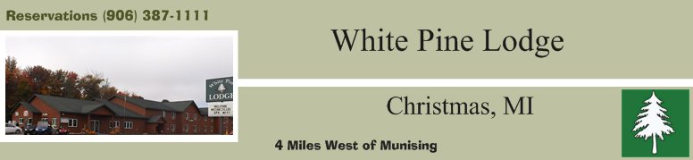 White Pine Lodge - Specify Stay Information